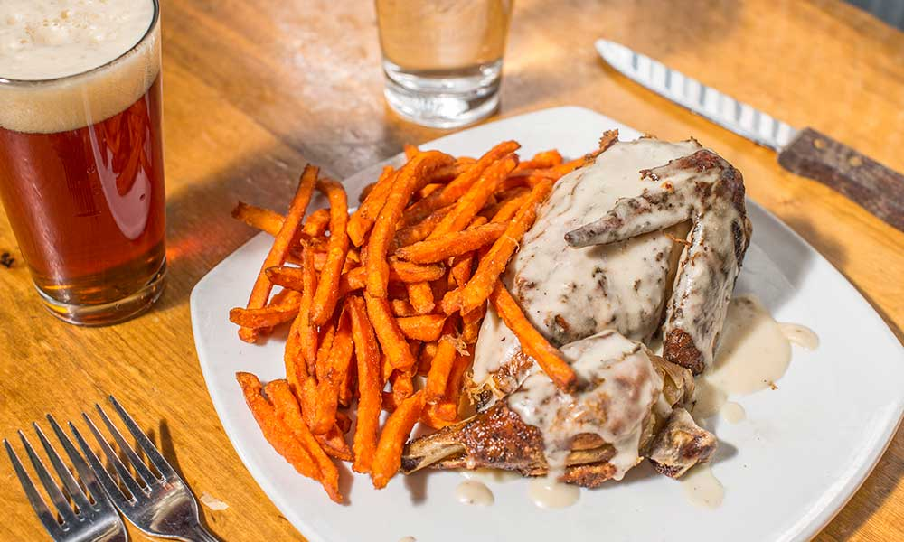 Rotisserie Chicken Sweet Potato Fries