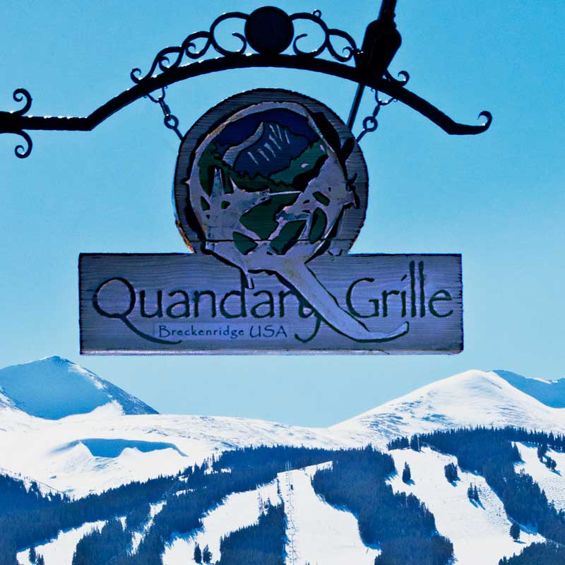 quandary grille sign